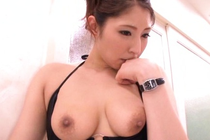 Mizuki ogawa gets over sized cock to shag her furry holes 10